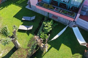 Villa Fiore drone view